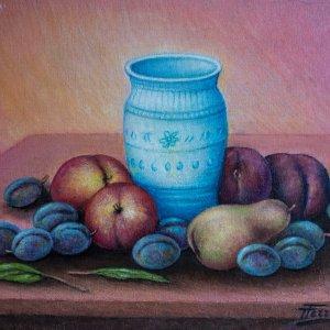 composizione con frutta
